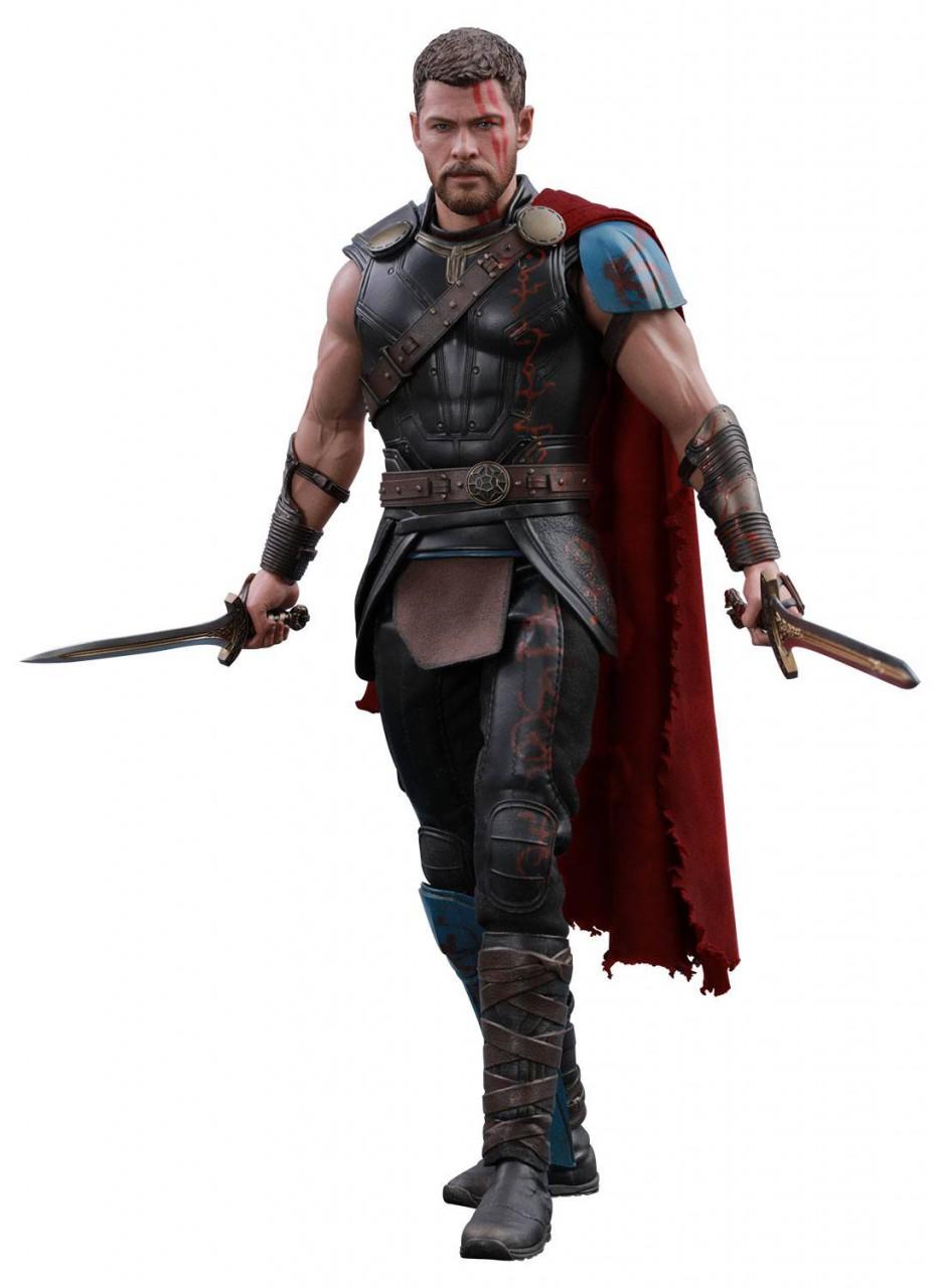 Thor Ragnarok Movie Masterpiece Actionfigur 1/6 Gladiator Thor Deluxe Ver. 32 cm