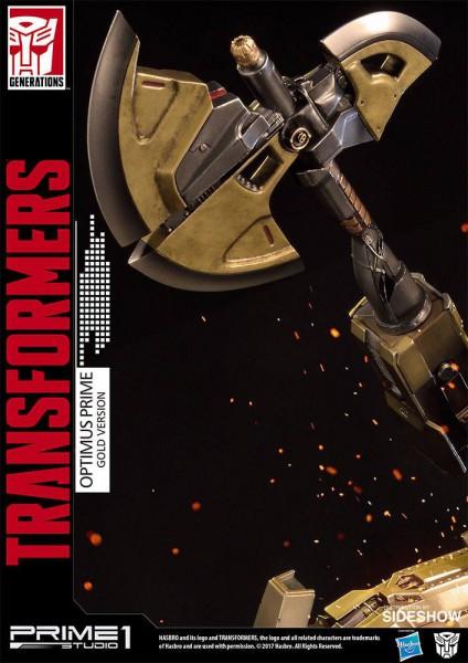 Transformers Generation 1 Statue Optimus Prime Gold Version 61 cm