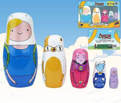 Adventure Time Matrjoschka-Puppen Set Fionna & Cake EE Exclusive 15 cm