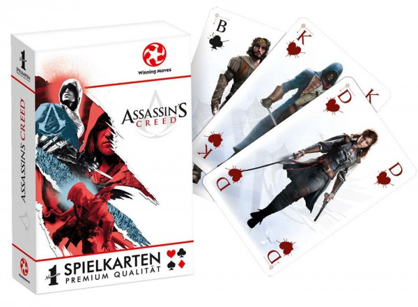 Assassin's Creed Number 1 Spielkarten Display (12) *Deutsche Version*