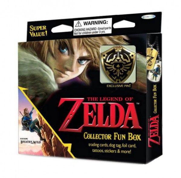 Legend of Zelda Collector's Fun Box mit Pin V2.0 *Englische Version*