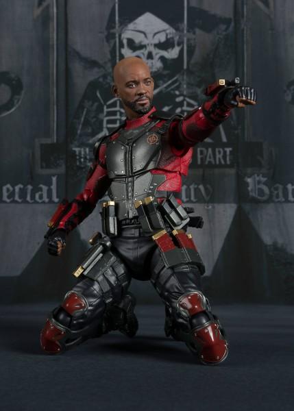Suicide Squad S.H. Figuarts Actionfigur Deadshot Tamashii Web Exclusive 16 cm