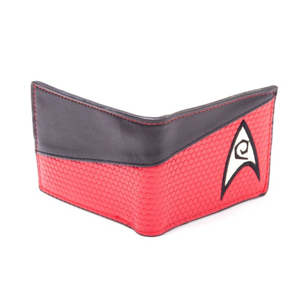 Star Trek Geldbeutel Bifold Engineering Logo Red