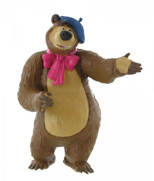 Mascha und der Bär Minifigur Bear Painter 8 cm