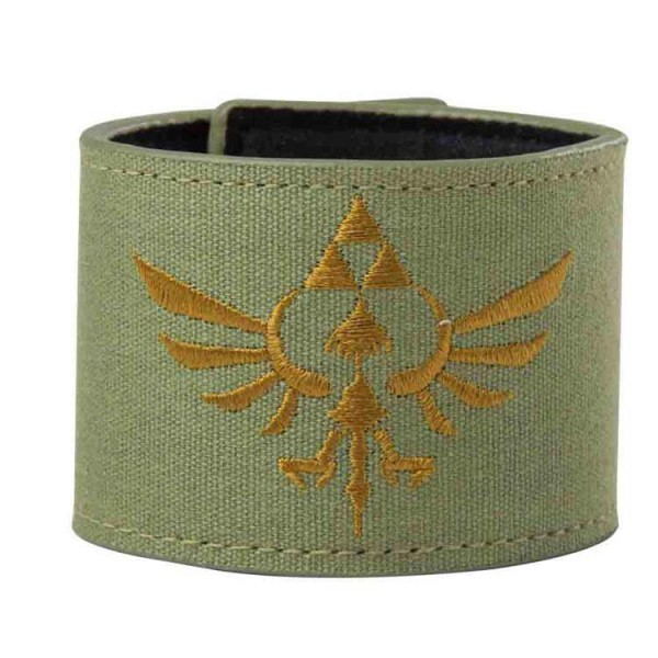 The Legend of Zelda Gold Logo Armband