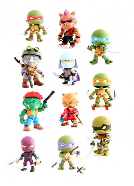 Teenage Mutant Ninja Turtles Action Vinyl Minifiguren 8 cm Wave 2 Display (16)