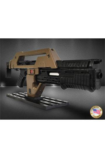 Aliens Replik 1/1 Pulse Rifle Brown Bess Weathered Ver. 68 cm