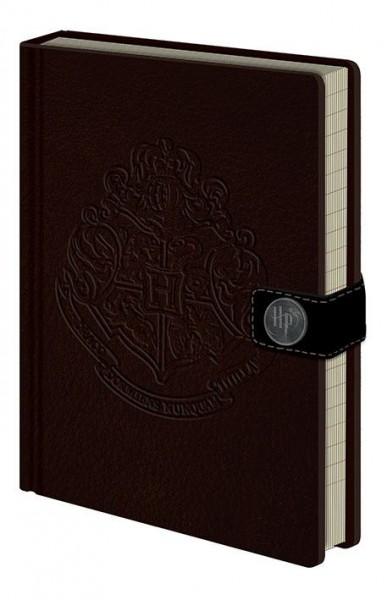 Harry Potter Premium Notizbuch A5 Hogwarts Crest