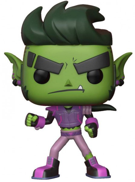 Teen Titans Go! The Night Begins To Shine POP! Vinyl Figur Beast Boy 9 cm