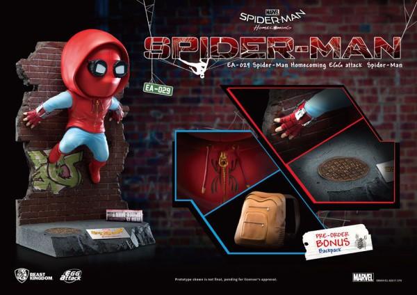 Spider-Man Homecoming Egg Attack Statue Spider-Man 32 cm