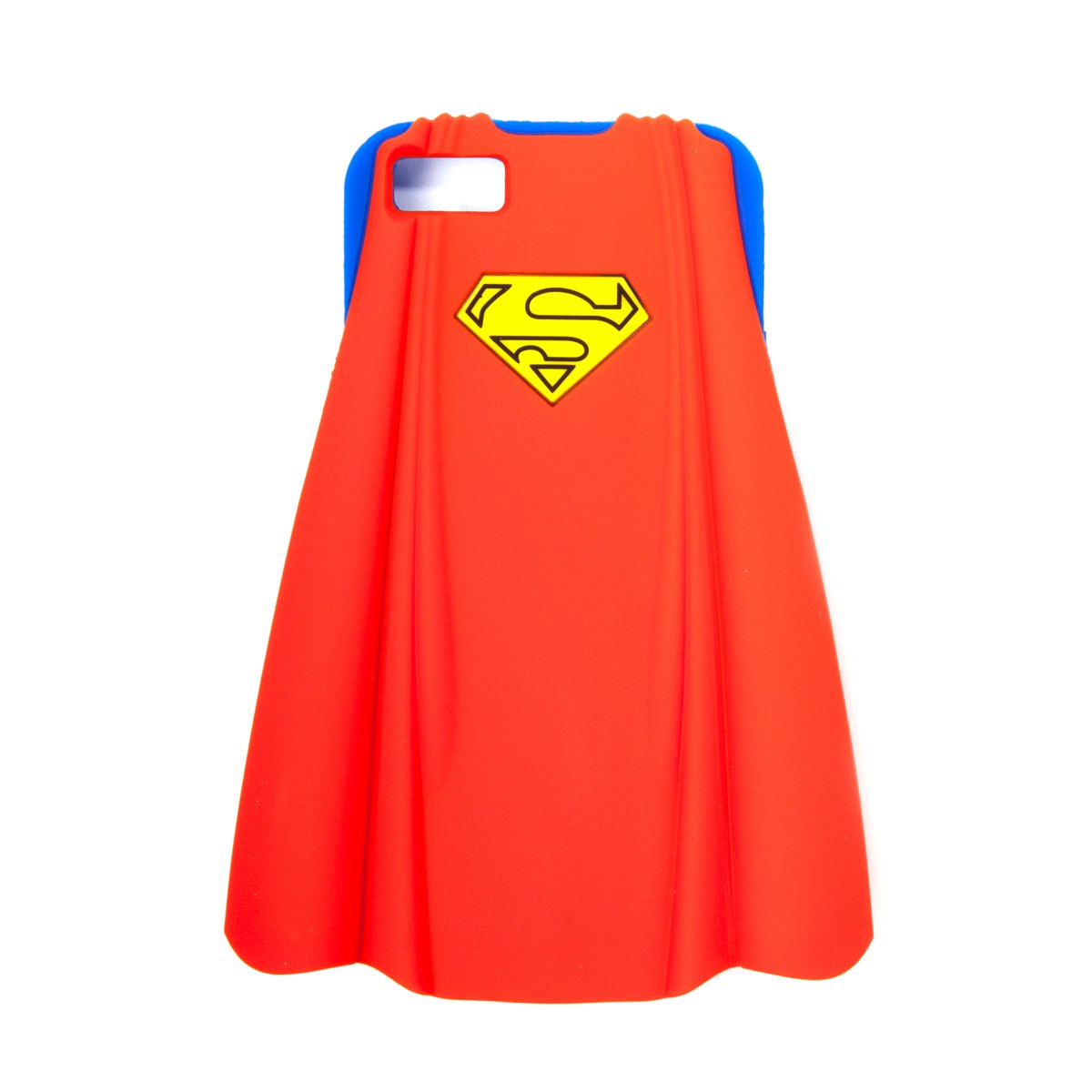 iPhone 5 Silikonhülle Superman mit Umhang