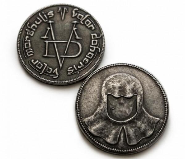 Game of Thrones Halskette & Anhänger Münze der Männer ohne Gesicht