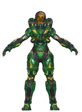 Halo 5 Guardians Serie 2 Actionfigur Spartan Hermes 15 cm
