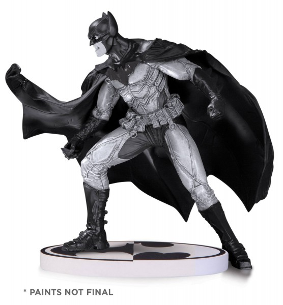 Batman Black & White Statue Lee Bermejo 2nd Edition 17 cm