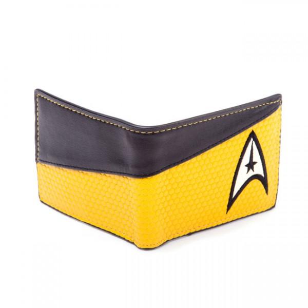 Star Trek Enterprise Command Geldbeutel, gelb