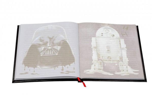 Star Wars Episode IV Notizbuch mit Sound und Leuchtfunktion Darth Vader