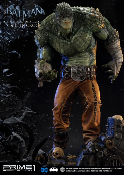 Batman Arkham Origins Statuen Killer Croc & Killer Croc Exclusive 90 cm Sortiment (3)