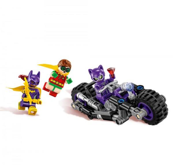 The LEGO® Batman Movie(TM) Catwoman(TM): Catcycle-Verfolgungsjagd
